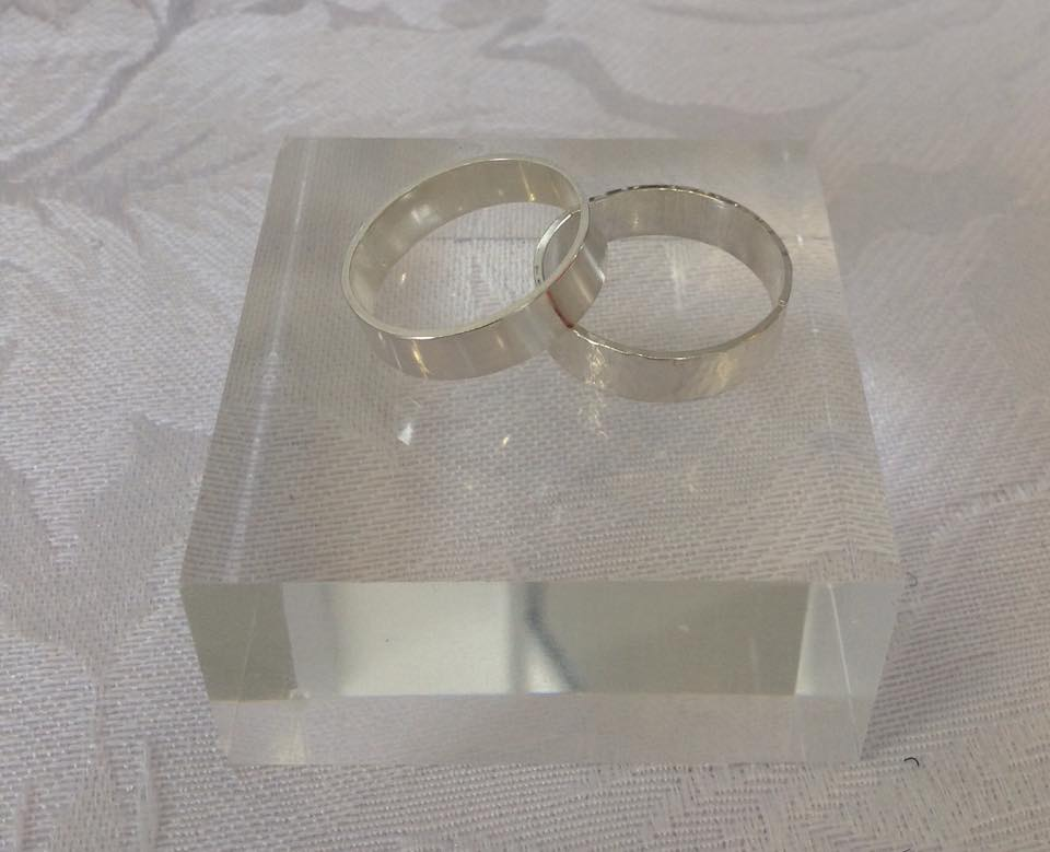 Make your own Wedding Rings Silver And Stone Jewellery