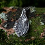 Drye silver-stone-Moonstone Pendant