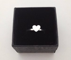 little heart ring by Helen Drye