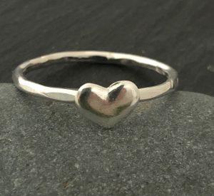 silver heart by Helen Drye