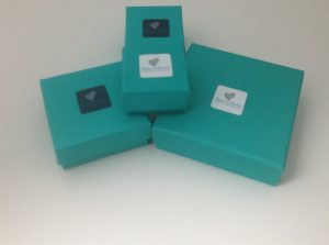Silver and Stone Gift box