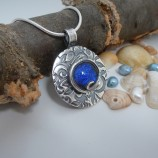 Silver and Stone blue Lagoon