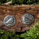 Woodland Bird Stud Earrings by Helen Drye
