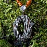 Woodland tree scene by Helen Drye