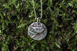 Woodland Bird Necklace by Helen Drye