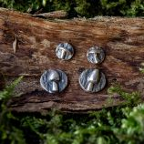 Mushroom Earrings by Helen Drye