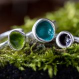 Woodland Pod Rings by Helen Drye