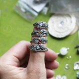 Anna Mazon Twig Rings